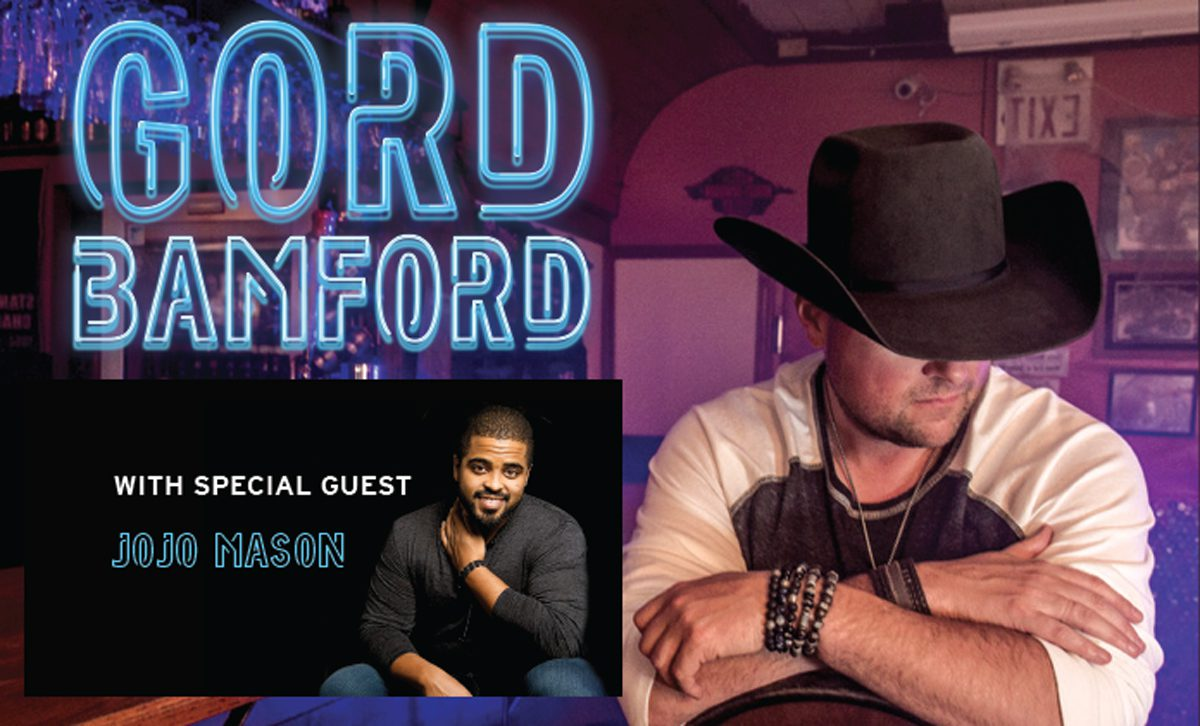 Gord Bamford Announces Honkytonks & Dive Bar Tour w/ Special Guest JoJo Mason